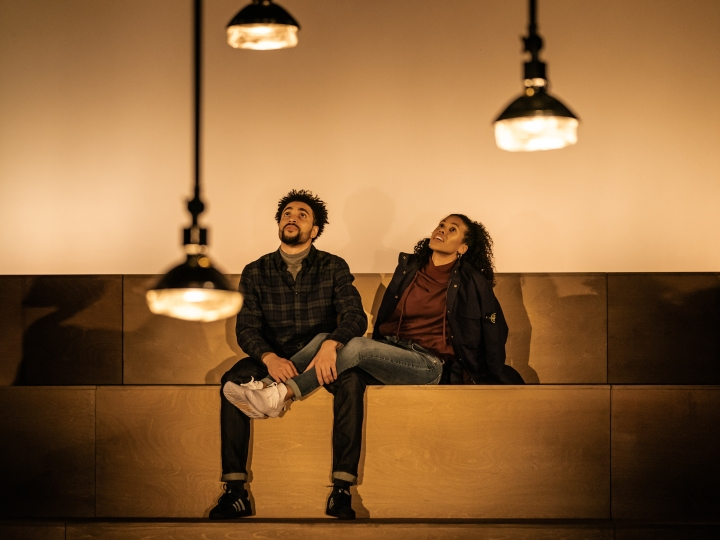 11 RET LIGHT FALLS - L-R Tachia Newall (Michael) & Witney White (Jess) - Image Manuel Harlan
